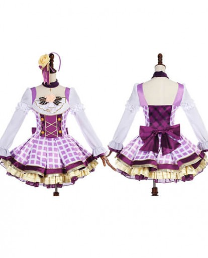 Lovelive Love Live Nozomi Tojo Cosplay Costume Halloween Dress Gril Skirt