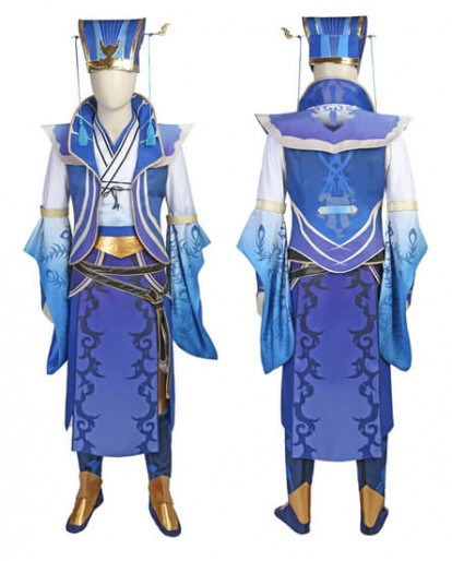Shin Sangokumusou Dynasty Warriors Si Mayi Cosplay Costume