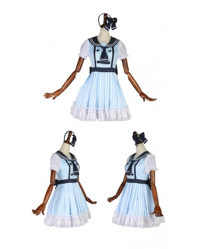 Love Live! Hanayo Koizumi Anime Cosplay Costume Sailor Dress