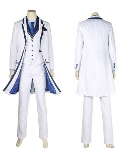 FGO Fate/Grand Order Saber King Arthur White Valentine's Day Cosplay Costume