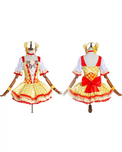 Love Live! Rin Hoshizora Skirt Dress Anime Cosplay Costume