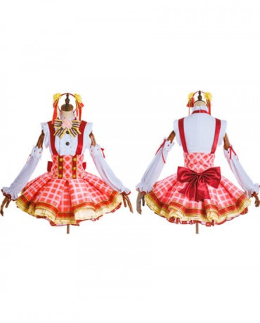 Lovelive Yasawa Nicole Cheerleading Dress Anime Cosplay Costumes