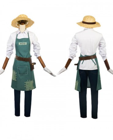 Identity V Gardener Cosplay Costume Halloween Uniform Outfit Suit