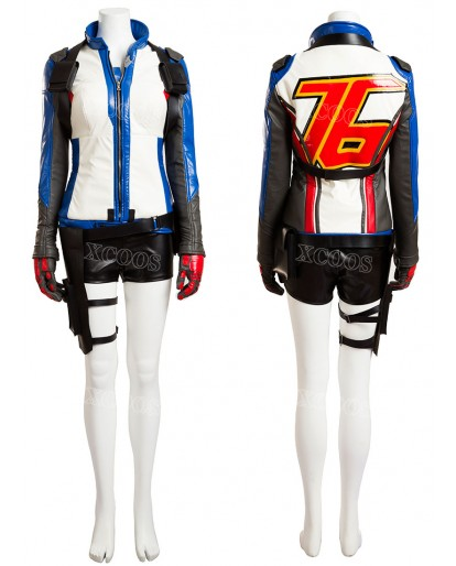 Overwatch Soldier 76 Female Cosplay Costume