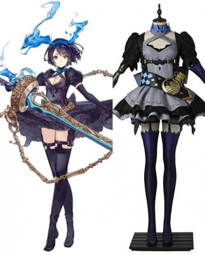 Japan Game SINoALICE Alice Gothic Lolita Dress Cosplay Costume
