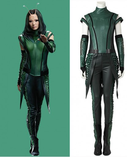Guardians of the Galaxy Vol. 2 Mantis Cosplay Costume Female Halloween Costume