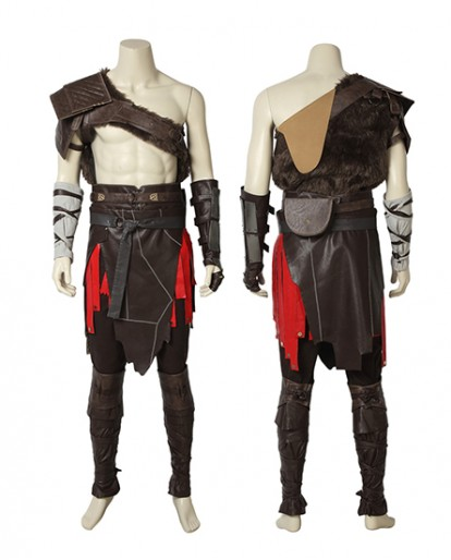 2018 New Game God of War 4 Kratos Cosplay Costume Halloween Costume