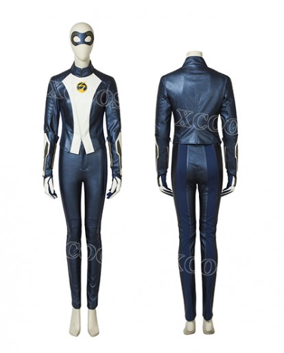 2018 New The Flash 5 Nora Allen Cosplay Costume Superhero Halloween Suit