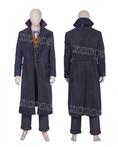 2018 Hot Movie Fantastic Beasts :The Crimes of Grindelwald Newt Scamander Cosplay Costume Halloween Costume