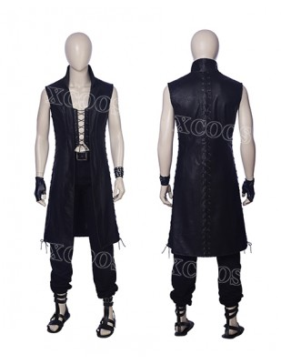 2018 New Game Devil May Cry 5 Vitale Cosplay Costume Men's Coat Jacket Halloween Suit