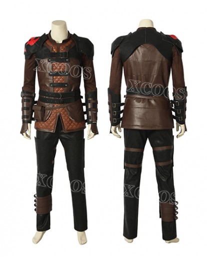 How To Train Your Dragon 3 The Hidden World Hiccup Cosplay Costume New Year Men Outfits Suit Prop