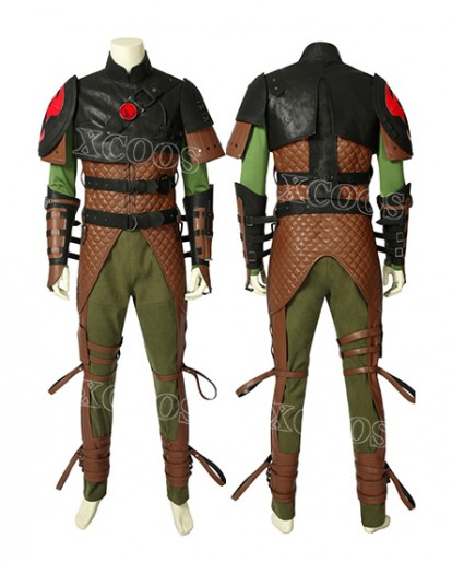 Hot Movie How to Train Your Dragon 2 Hiccup Full Armour Cosplay Costume
