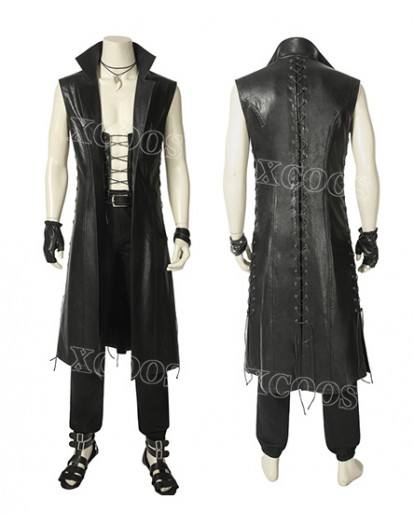Hot Game Devil May Cry5 Vergil Cosplay Costume Tailor Made Men Outfit