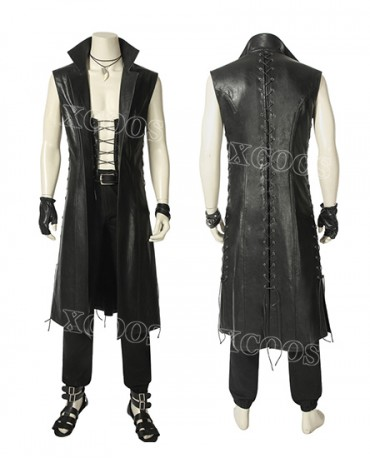 2018 New Game Devil May Cry 5 V Cosplay Costume Men's Coat Jacket Halloween Suit