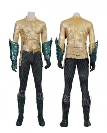 f32f03635b65 Hot sale Aquaman Arthur Curry Superhero Cosplay Costume Men Outfit