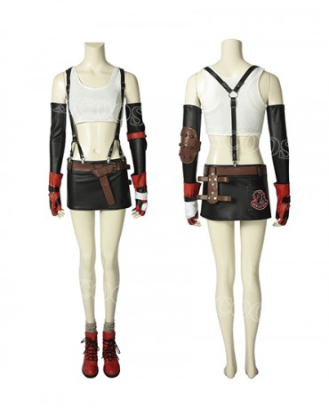 FINAL FANTASY VII FF7 Tifa·Lockhart Cosplay Costume Women Sexy Suit