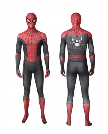 New Spider-Man Far From Home Peter Parker Cosplay Zentai Suit Bodysuit Spiderman Superhero Jumpsuits