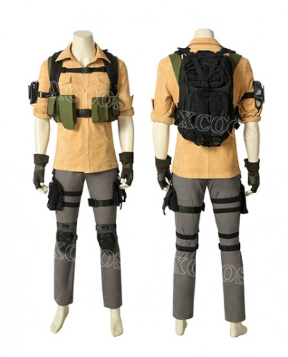 Tom clancy's The Division Aaron Keener Game Cosplay Costume Shirt Pants Bags