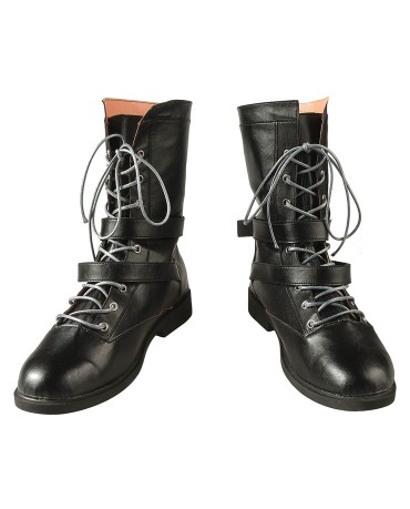 Hot Game Kingdom Hearts III Riku Cosplay Boots Men Boots