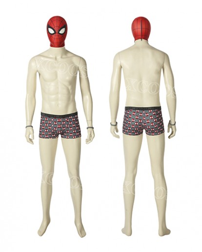 Spider-Man PS4 Undies Peter Parker Cosplay Halloween Costume