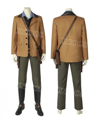 New Game Red Dead: RedemptionⅡ Arthur Morgan Cosplay Men Costume Cowboy Leather Uniform