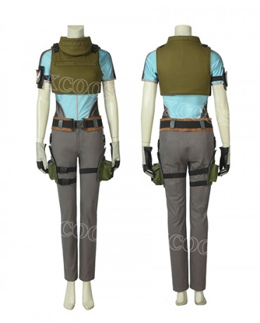 Hot Game Tom Clancy's The Division2 Cosplay Costume Women Suit