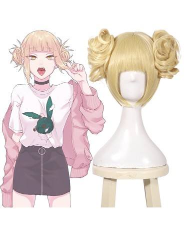 2019 Himiko Toga Cosplay Wig Anime My Hero Academia Hair