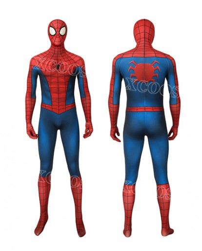 2019 Latest Marvels Spider-man Cosplay Costume Men Zentai Classic suit