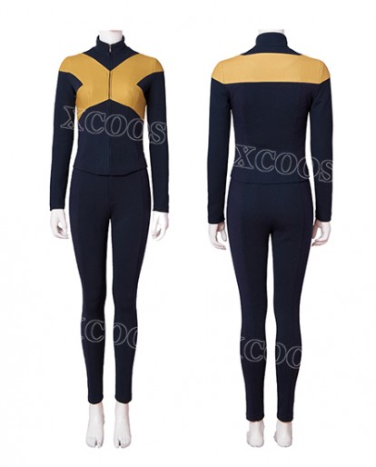 New Movie X-Men Dark Phoenix Mystique Raven Darkholme Cosplay Costume Halloween Dress