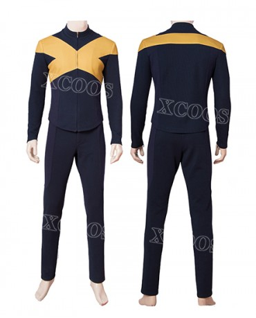 2019 Hot X-Men Dark Phoenix Cyclops Scott Summers Cosplay Jumpsuit Halloween Costume