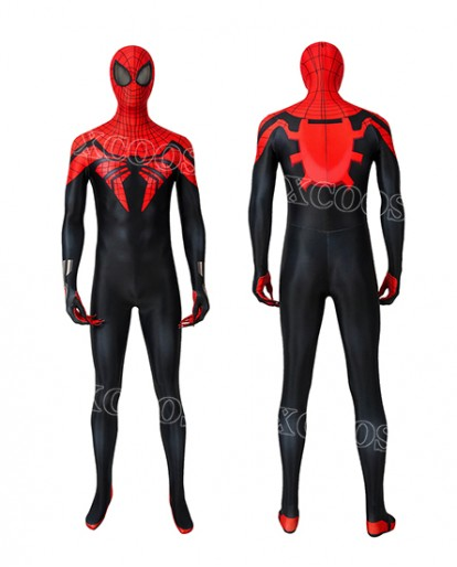 Marvel Comics Superior Spider-man Otto Octavius Cosplay Costume Men Bodysuit Jumpsuits