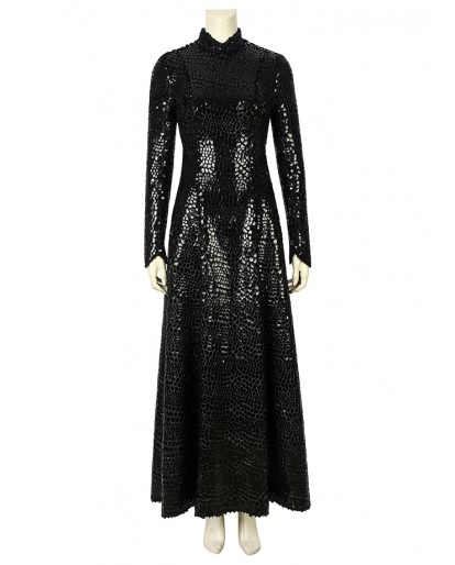 Game Of Thrones Season 8 Sansa Stark Cosplay Costume Top Level Fancy Women Dress