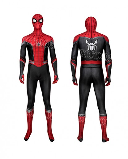 Latest Spider Man Far From Home Cosplay Costumes Peter Parker Bodysuit Spiderman Superhero Jumpsuits
