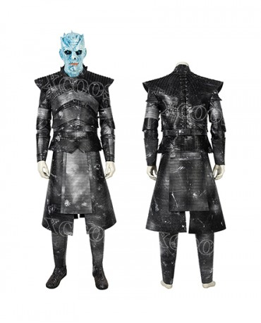 Game of Thrones A Song of Ice and Fire Night's King Cosplay Costumes Night King White Walkers
