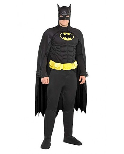 USA Batman Muscle Cosplay Costume