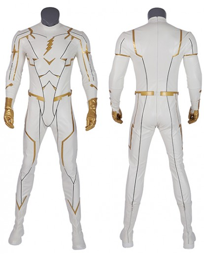 The Flash Season 5 August Heart Godspeed Cosplay Costume Jumpsuit