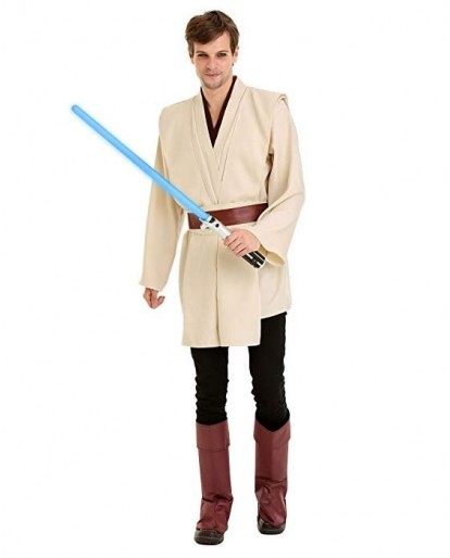 Star Wars Force Master Mens Halloween Cosplay Costume