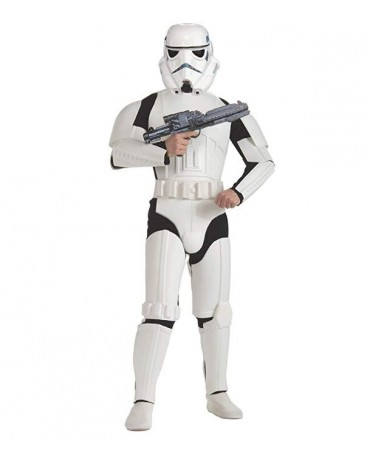 Star Wars Storm Trooper Cosplay Costume jumpsuit