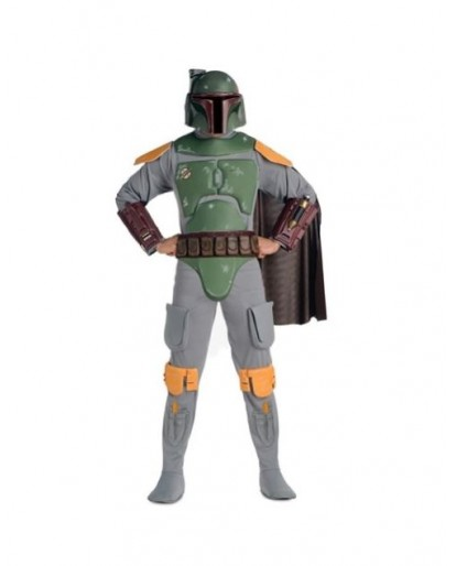Star Wars Darth Boba Fett Costume jumpsuit