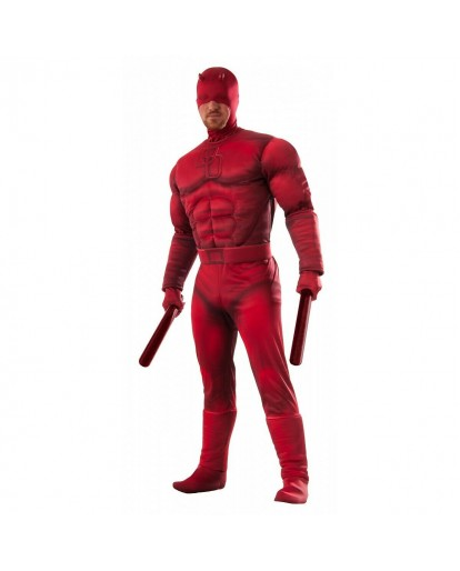 Rubies Costume Co Mens Marvel Daredevil Deluxe Multi X-large