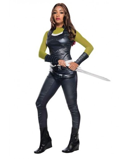 Marvel Guardians of the Galaxy Gamora Cosplay Costume