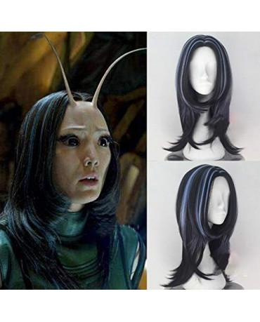 Marvel Avengers Infinity War Mantis Cosplay Wig