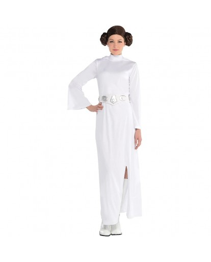 Star Wars Princess Leia Cosplay Costume Outfit