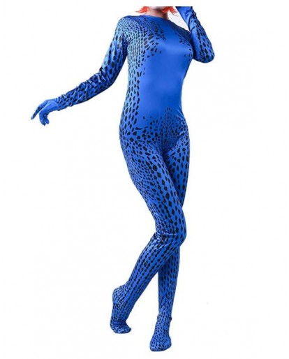 X-Men Mystique Cosplay Costume Zentai Jumpsuit