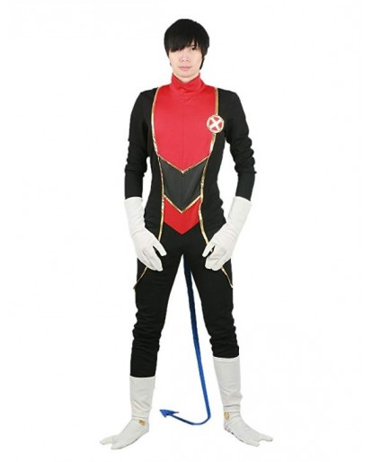 X-Men Nightcrawler Cosplay Costume Zentai Jumpsuit