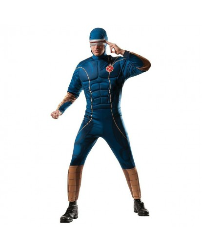 X-MEN Scott Summers Cyclops Cosplay Costume Jumpsuit