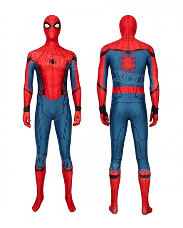 Spider-Man Far From Home Peter Parker Cosplay Costume Jumpsuit