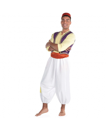 Men Aladdin Cosplay Costume