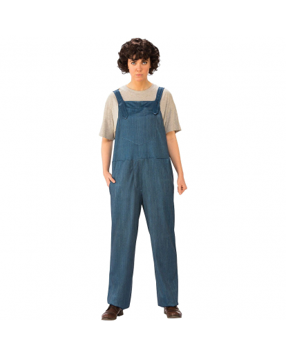 Stranger Things Eleven Cosplay Costume Jumpsuit
