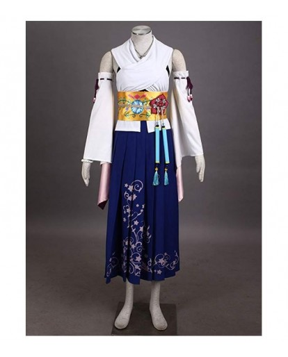 Final Fantasy Yuna Yunie Cosplay Costume